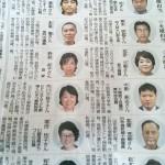 山口新聞「東流西流」に木彫り作家として連載決定!