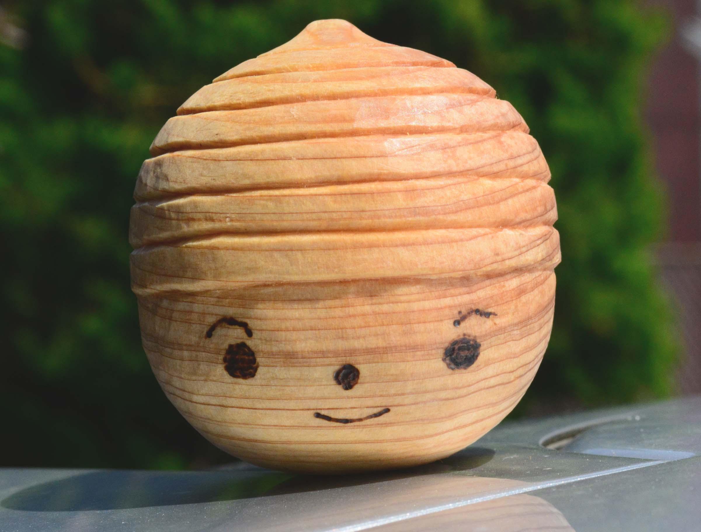 【生徒さんの作品】木彫りを通信講座で学ぶメリットを活かして完成!