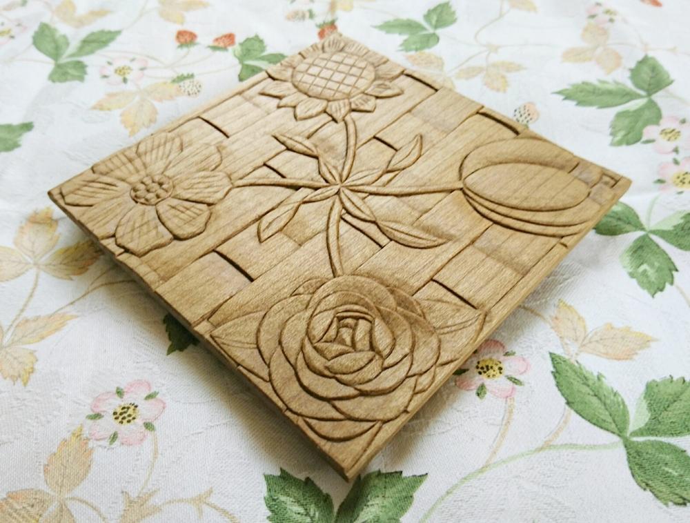【生徒さんの作品】木彫り作品を完成させるタイミングはいつ?
